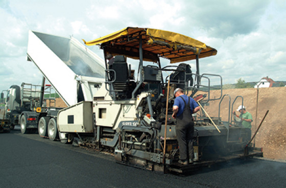 CellaAsphalt Fertiger