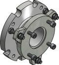 Mechanical accessories Series CellaTemp PA: Ball flange PB 08/I AF 3