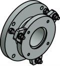 Mechanical accessories Series CellaTemp PA: Ball flange PB 08/I AF 1